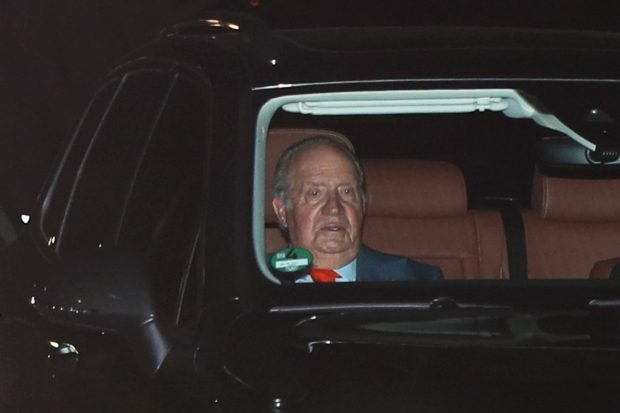 ¿Qué le ha pasado a don Juan Carlos?