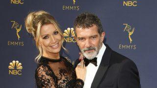 Antonio Banderas y Nicole en los Emmy / Gtres