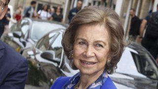 La reina doña Sofía en Santiago / Gtres