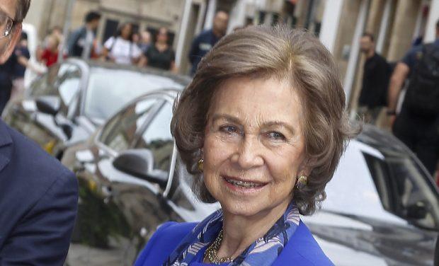 El guiño de doña Sofía a la princesa de Asturias en su rentrée oficial