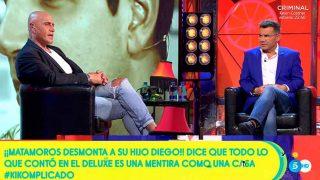 Kiko Matamoros contesta a su hijo en 'Sálvame Diario' / Telecinco