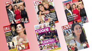 Todas las portadas del kiosko de esta semana /Fotomontaje LOOK