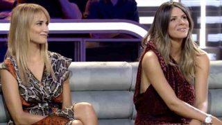 Laura Matamoros y Alba Carrillo durante el plató /Telecinco