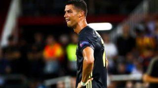 Cristiano Ronaldo, llorando justo después de ser expulsado / Gtres