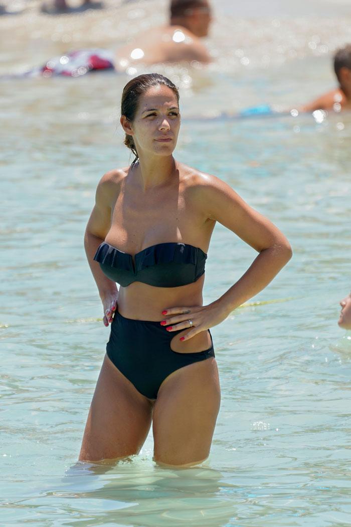 Tamara Gorro en bikini