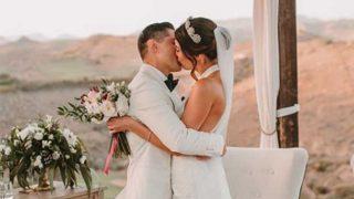Carla Barber, el día de su boda /@dr.carlabarber