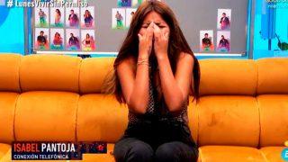 Chabelita rompe a llorar con las palabras de su madre / Telecinco