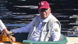 Don Juan Carlos, en las regatas / Gtres.