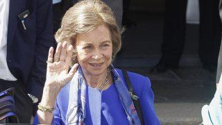 La reina emérita Sofía, en una imagen de archivo / Gtres.