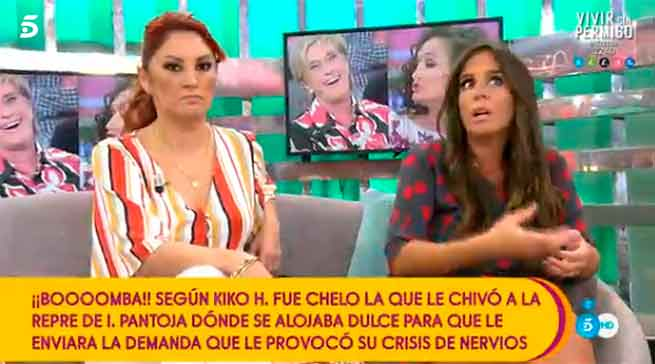 Anabel Pantoja deja definitivamente 'Sálvame'