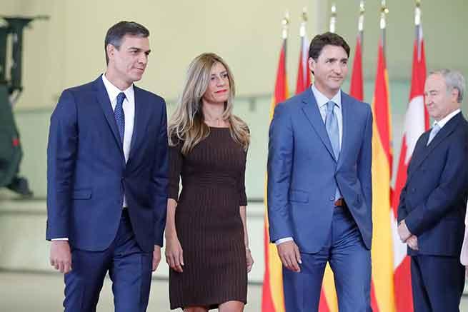 Begoña Gómez se estrena a lo grande como primera dama