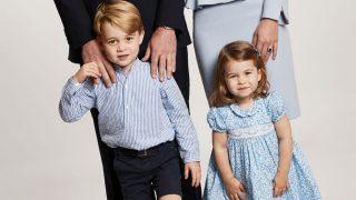 Los príncipes George y Charlotte / Gtres