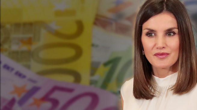 Doña Letizia, la reina peor pagada