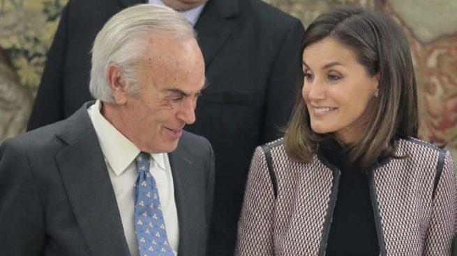 Doña Letizia se reencuentra con Carlos Zurita tras perderse el bautizo de su nieto