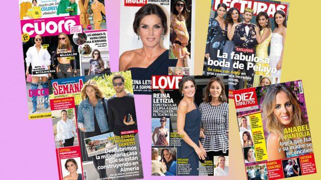 Las Portadas De Las Revistas Del Corazón La Semana Del 24 Al 30 De