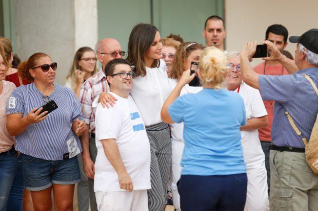 Doña Letizia adelanta el otoño en su retorno a Mallorca