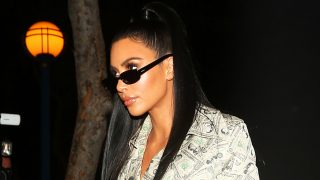 La socialité Kim Kardashian. / Gtres