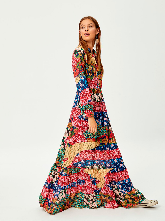 Vestido patchwork Mioh Eva González