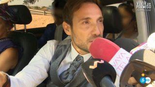 Antonio David Flores, a su llegada / Telecinco.