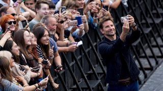 Bradley Cooper, durante su presentación en San Sebastián / Gtres.