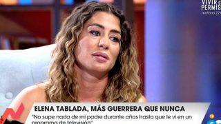 Elena Tablada, durante su internvención en 'Viva la vida' / Gtres.