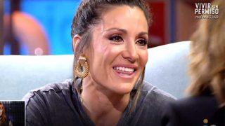 Nagore Robles, muy emocionada, en 'Viva la Vida' / Telecinco.