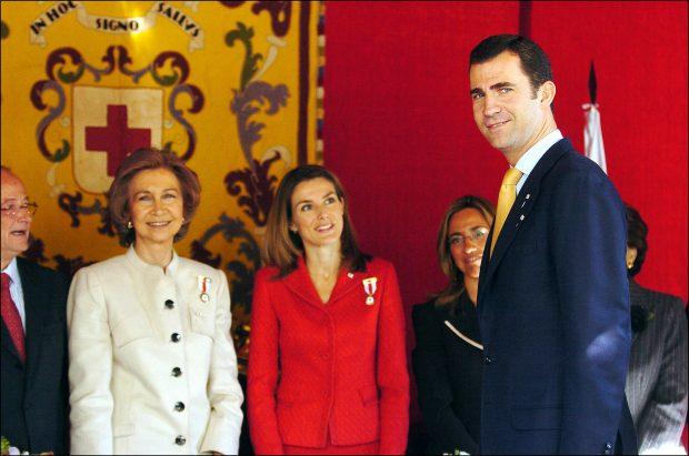 El esperado reencuentro de la reina Letizia y doña Sofía