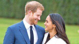 Los duques de Sussex el día de su compromiso / Gtres