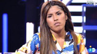 Isa Pantoja, durante el debate / Telecinco.