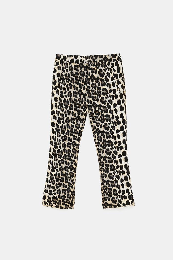 Pantalones leopardo de Zara