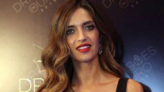Sara Carbonero durante los premios Dragón de Oro / Gtres