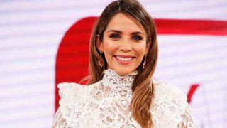 Rosanna Zanetti, durante la presentación de su espacio en 'Corazón TVE' / Gtres