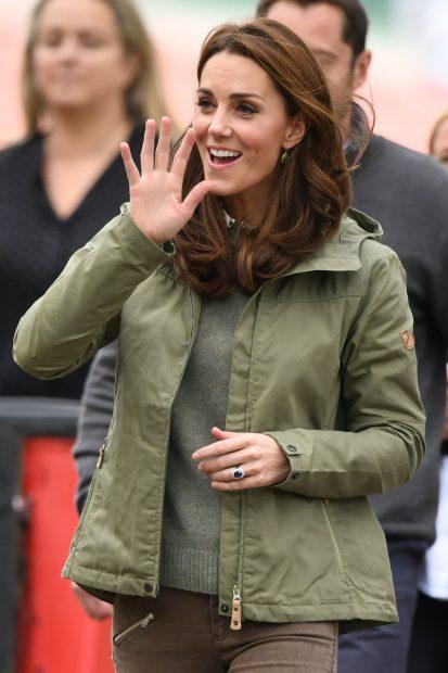 Kate Middleton en su regreso al trabajo / Gtres