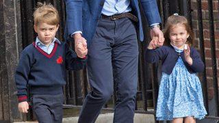 Los príncipes George y Charlotte en una imagen de archivo / Gtres