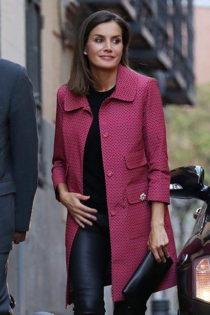 El mensaje oculto del look de la Reina en su retorno al 'Día de la Banderita'