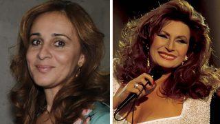Ana María Aldón hace un homenaje a Rocío Jurado el día de su boda/ Gtres
