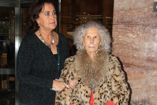 Carmen Tello y la duquesa de Alba