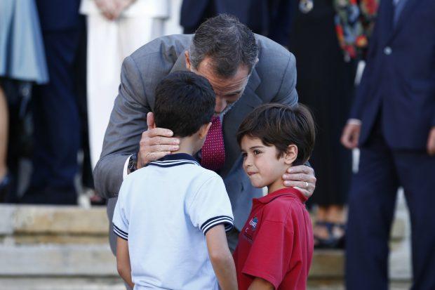 La curiosa y entrañable anécdota del rey Felipe en Bilbao