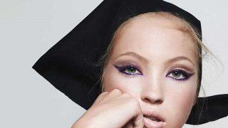 Lila Moss en la imagen de campaña de Marc Jacobs Beauty. / Instagram: @marcbeauty