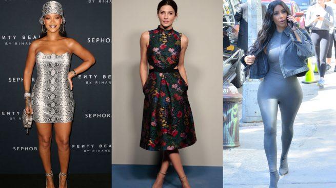 Rihanna Bárbara Lennie Kim Kardashian mejores peores vestidas