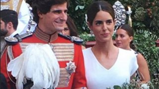 Fernando Fitz-James y Sofía Palazuelo, recién casados / @365_bodas