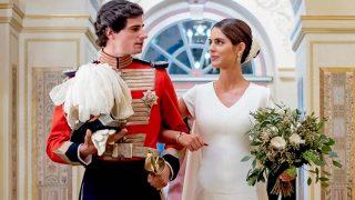 Sofía Palazuelo y Fernando Fitz-James Stuart en el Palacio de Liria/ Gtres