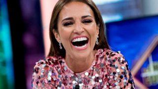 La actriz Paula Echevarría en 'El Hormiguero'. / Gtres