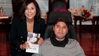 Isabel Gemio y su hijo Gustavo / Gtres