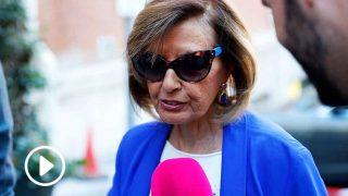 María Teresa Campos, a su entrada a la Fundación Jiménez Díaz / Gtres