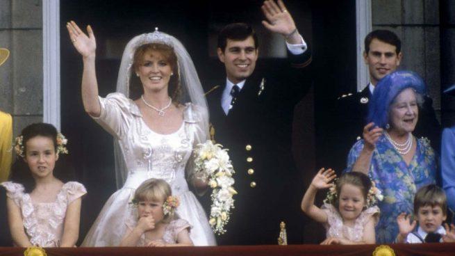 EN IMÁGENES: Así fue la boda cuento del príncipe Andrés de York y Sarah Ferguson