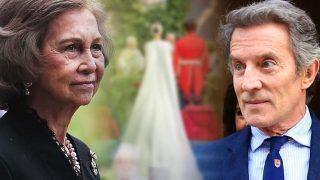 El frío encuentro de la reina Sofía y Alfonso Díez en Liria