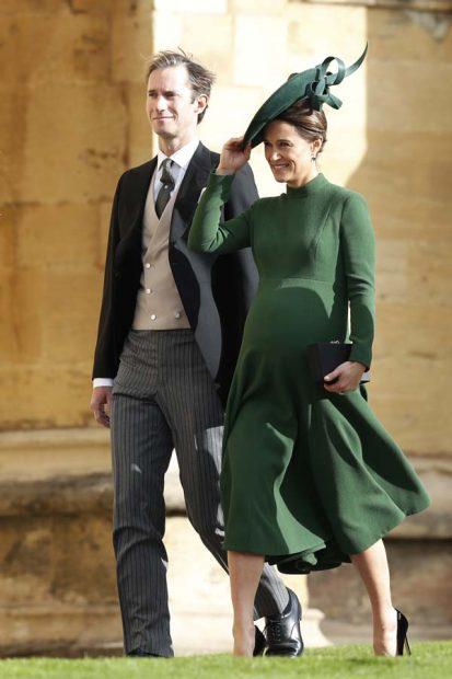 Pippa Middleton en la boda de eugenia de york