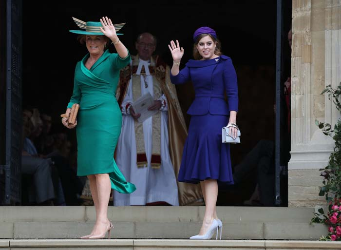 De la coincidencia de Meghan y Kate al bolso de Demi: detalles de estilo 'escondidos' en la boda de Eugenia de York