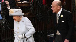 La Reina y el duque de Edimburgo / Gtres